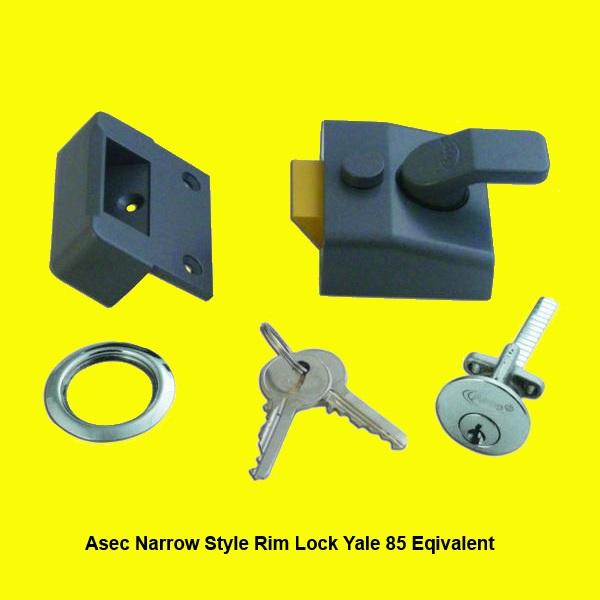 Yale Rim Lock Fitting Instructions