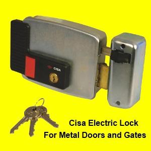 Cisa Metal Electric Locks For Gates Metal And Aluminium