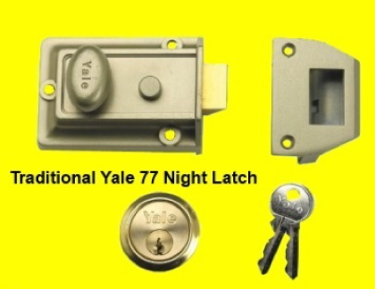 Yale 77 Night Latch The Basic Lock For Your Door Call 020
