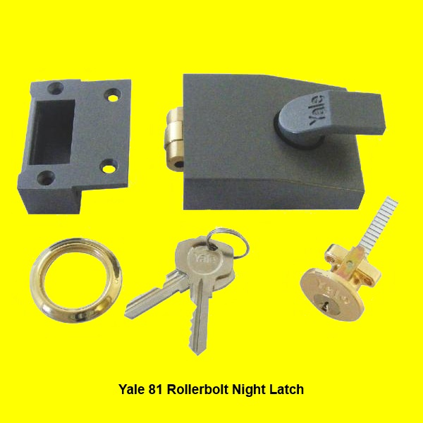 Yale 81 Rollerbolt Night Latch Good At Discounted Prices