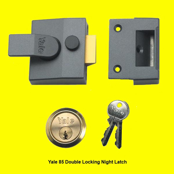 yale night latch instructions